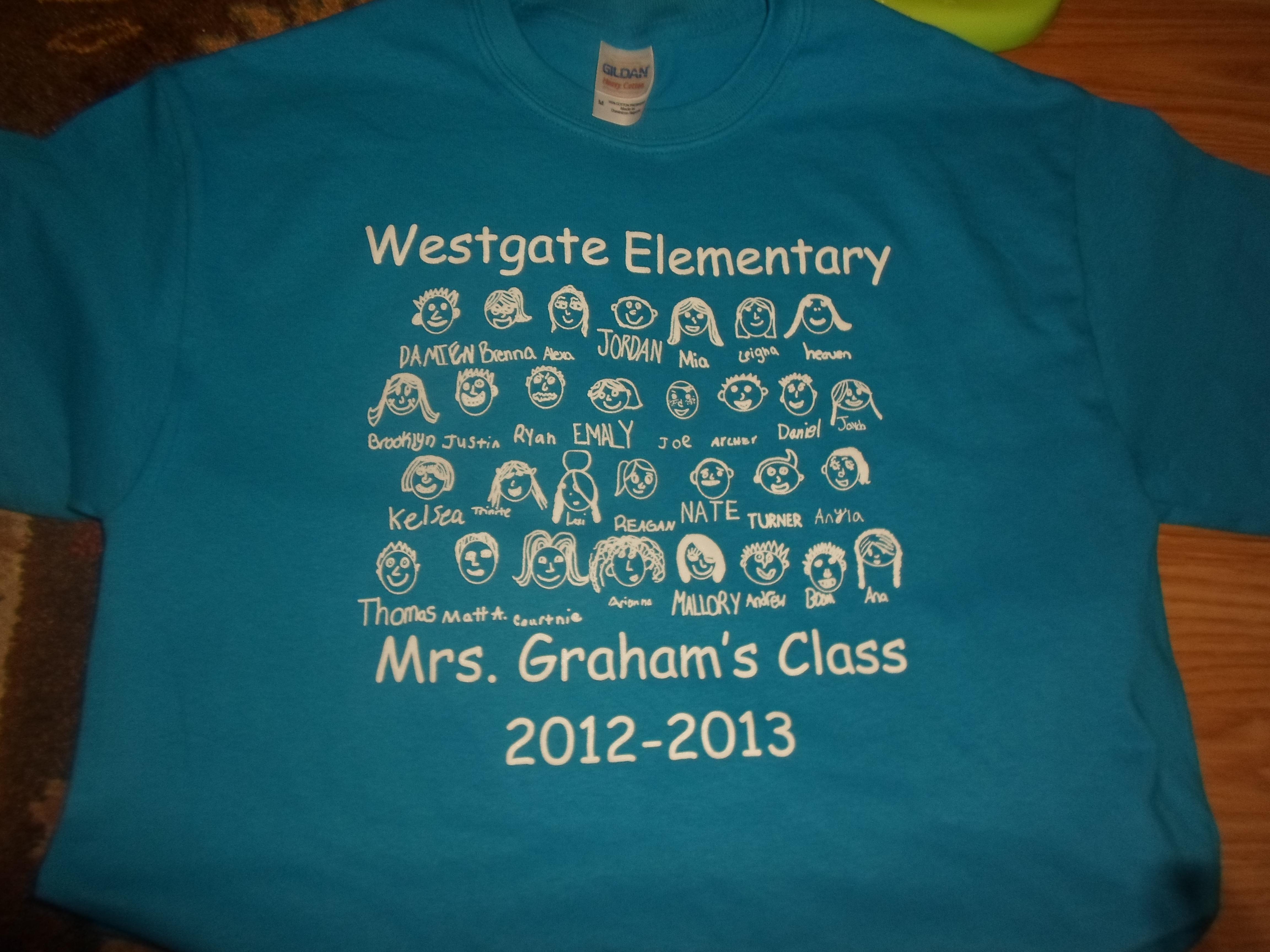 Class T-Shirts | Smart Chick Teacher's Blog