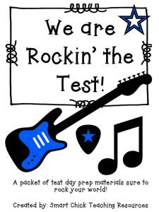 We are Rockin' the Test!